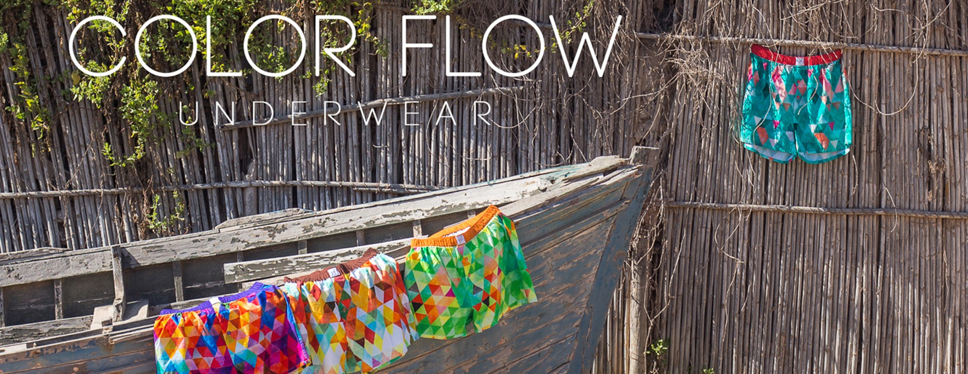 Choose color & feel the flow
